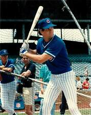 Photo Baseball Color 8x10 Chicago Cubs Ryne Sandberg HOF