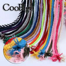 Macrame Cord Cotton Rope Twisted String DIY Sewing curtain Decor Packaging Parts