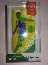 iPhone 5 & 5s Snap-On Case / Cover World Cup Soccer Team Brazil By Radioshack