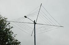 Complete 5 Band HF Cobweb Base Antenna Custom Built 10 - 20 MTR for ICOM Yaesu