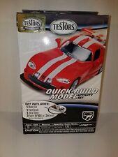Testors 1/32 Quick-Build Dodge Viper Gts-R Car Model Kit - 4091 *New Sealed*