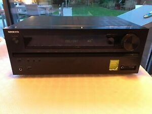 ONKYO TX-NR515 7.2 Channel 130 Watt Receiver - Black, Used but in Good condition