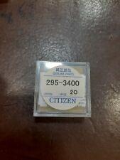 Genuine RICARICABILI-Condensatore Citizen Batteria Panasonic 295-34...
