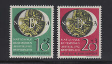 GERMANY 1951 National Philatelic Exposition Michel#141-142 Semi-Postal set MVLH