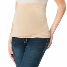 Motherhood Maternity Stretchy Tummy Sleeve Medium Brown One Size Fit Most