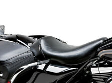 Le Pera Bare Bones Solo Seat Smooth For Harley FLHT 2002-2007 Black LH-005