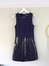 Super Rare Fred Perry X Richard Nicoll Collab Patent Leather Shift Dress XS S 8