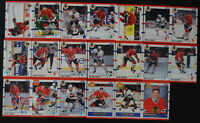 1990-91 Score American Chicago Blackhawks Team Set of 20 Hockey Cards