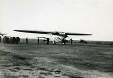 France Istres Airport Aviation Bleriot 110 Bossoutrot & Rossi Old Photo 1932