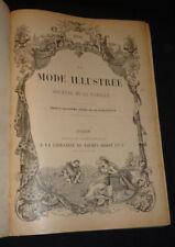 La Mode illustrée (année 1892 complète)
