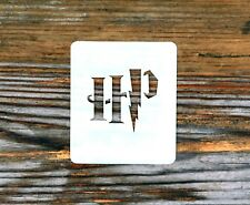 Harry Potter Initials Face Painting Crafting Stencil 7cm x 6cm Washable Reusable