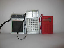 Vintage Lots of 3 Portable Radio (Broken/Repair/Spares) -1A
