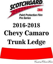 3M Scotchgard Paint Protection Film Pro Series Clear 2016 2017 2018 Chevy Camaro