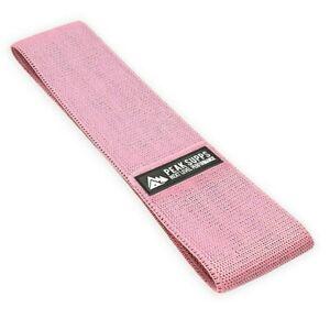 Fabric Resistance Band - Light/Moderate Strength Pink - NON SLIP Hip Circle Band