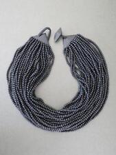 Vintage Danish Monies Gerda Lynggaard Ebony Necklace Choker Signed