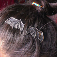 Punk Gothic Vintage Vampire Bat Wings Alloy Hair Clip Hairpin Hair Accessories Y