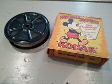 film 16 mm d'époque dessin animé de WALT DISNEY MICKEY CHAUFFEUR DE TAXI 1931