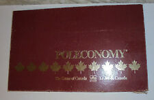 Vintage POLECONOMY BOARD GAME RARE Waddingtons Finance GAME of CANADA Complete