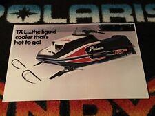 🏁 78 POLARIS TX-L Snowmobile Poster    vintage sled TXL