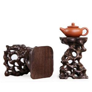 1pcs Stand display hard wood China new wood root carving wooden bonsai base