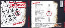 Trespass The Works II CD NWOBHM