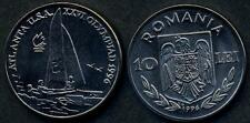 ROMANIA 10 Lei 1996 Olympic Games Sailboat UNC
