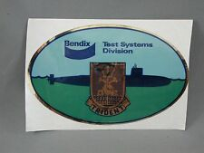 Bendix Test Systems Division Trident Submarine Decal Military Arms Show 1984