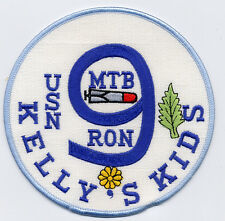 MTB RON 9 USN Kelly's Kids - nine in middle BC Patch Cat. No. B964