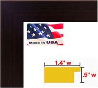 "US Art Frames 1.25/"" Flat Silver Cloud MDF Wood Composite Picture Frame S-Lot"