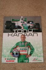 2009 Tony Kanaan 7-Eleven Honda Indy Car postcard