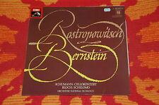 ♫♫♫ ROSTROPOVICH * BERNSTEIN * Schumann / Bloch * EMI Quadrophonie Vinyl LP ♫♫♫