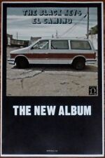 THE BLACK KEYS El Camino Ltd Ed Discontinued RARE New Poster! Indie Turn Blue