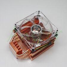 Copper Radiator PWM Fan Heatsink Cooler for CPU LGA775 1156 1366 AMD AM2+ AM3