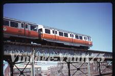 Original Slide Mbta 01139 Boston Transit Subway Kodachrome 1975