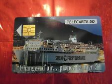 RARE TELECARTE PRIVEE PUBLIQUE - EN 520 - S.N.C.M  FERRY - TTBE - 4536 ex