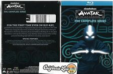 AVATAR THE LAST AIRBENDER BLU-RAY + SLIPCOVER COMPLETE SERIES SET ✔☆NEW/SEALED☆✔