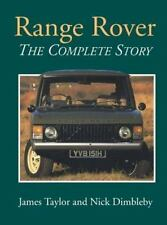 RANGE ROVER THE COMPLETE STORY, TAYLOR, NEW CROWOOD HARDBOUND BOOK, Best Offer?