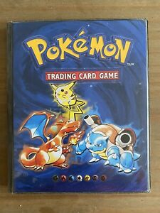Pokemon Cards Base Set Complete 102/102 - Original Folder - RARE!