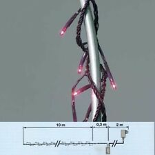 Lichterkette 176er Micro-Bulbs Fuchsia 8 Funktionen außen Blachere 1176F