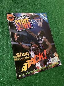 NBA Inside Stuff Magazine Vol. 1 Issue 3 (Shaquille O'Neal Cover)