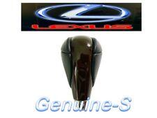 OEM 2007-2016 Lexus ES300 ES350 ES300h Dark Walnut Wood black Leather Shift Knob