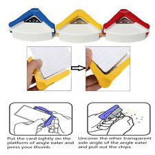 Color Random Photo Scrap Booking Cutter Tool Hole Punch Plastic Corner Rounder