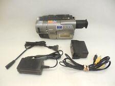 Sony Handycam CCD-TRV37 8mm Hi-8 Analog Camcorder VG Condition 90-Day Warranty