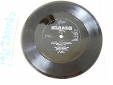 "MICHAEL JACKSON Bad/9 fragments 1987 RARE HOLLAND PROMO 7"" Flexi Disc EPIC !"