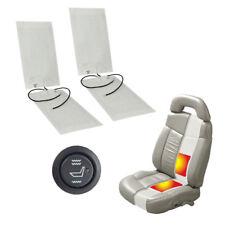 2 Sets Auto Universal Carbon Sitzheizung Heizmatten Nachrüstsatz KFZ PKW 2 Stufe