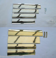IN 3 Finishes polished brass Satin steel INTERIOR INNER FLAP LETTER BOX TIDY