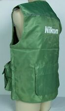 Authentic Nikon Professional Photographer Vest Size XL Jacket D7200 D5500 Body