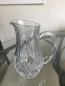 Lead Crystal Jug Tutbury Crystal