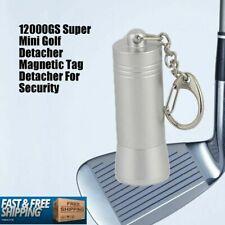 Super Mini Golf Universal Magnetic Detacher Security Tags Clothes 12000Gs Eas