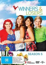 Winners & and Losers Season 5 Five Fifth DVD 3-Disc NEW Region 2 and 4
